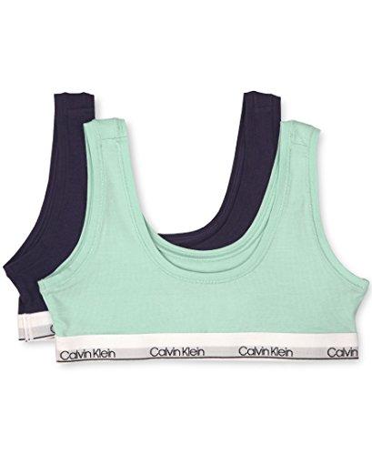 Calvin Klein Girls' Modern Cotton Bralette, Singles and Multipack