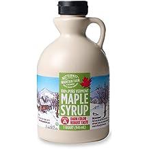 Butternut Mountain Farm 100% Pure Vermont Maple Syrup, Grade A Dark Robust (formerly Grade B), 32oz (Quart)