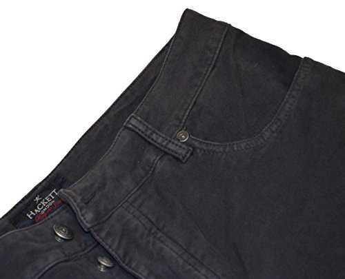 Hackett London - Pantalon - Homme noir graphite