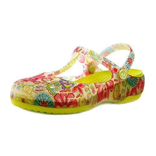 Jane Trou Chaussures Femmes Jelly Gouttelettes Mary Chaussures Impression Plage 37 38 Yellow GUANG Chaussures Sandales Été Yellow Chaussures XING Chaussures D'eau xwISqYC4a