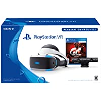 PlayStation Virtual Reality VR Headset with Gran Turismo Sport Bundle