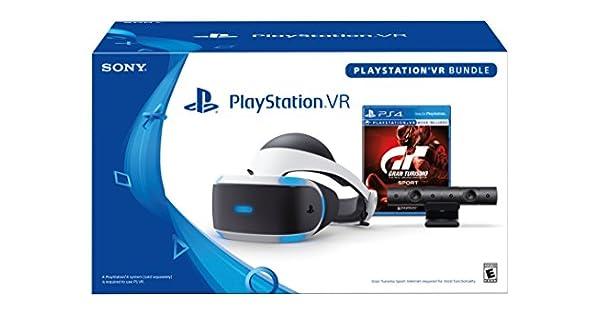 e5ee0ba25fe Amazon.com  PlayStation VR - GT Sport Bundle  Discontinued   Video Games