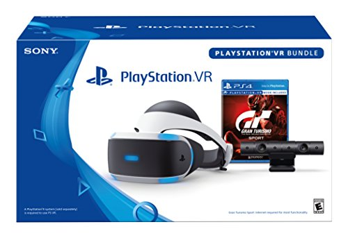PlayStation VR - GT Sport Bundle [Discontinued] (Best Sony Ps4 Headset)