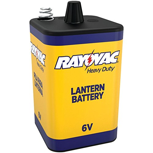 (RAYOVAC 944R 6-Volt Heavy-Duty Lantern Battery with Spring Terminals Electronics Accessories)