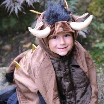 DUBD Boys Girls Kids Monster (Makes a Great Gruffalo) Fancy Dress Halloween Book Week/Day Costume 18 Months - 3 -