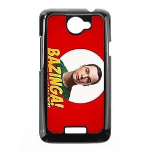 Bazinga HTC One X Cell Phone Case Black QD9339527