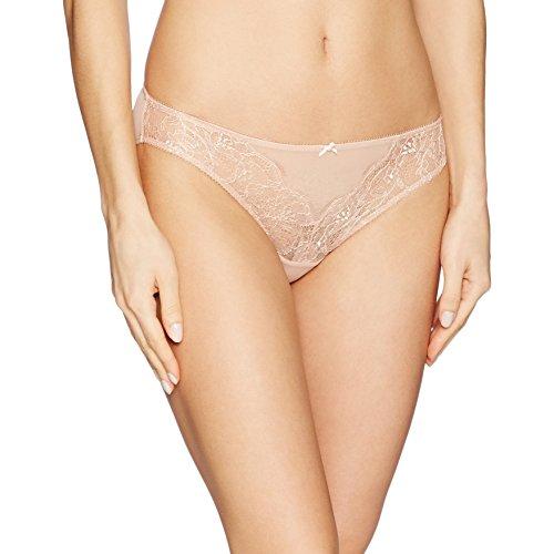 b.tempt'd by Wacoal Women's B.Sultry Bikini Panty, Mahogany Rose, S (Rose Bikini Panty)