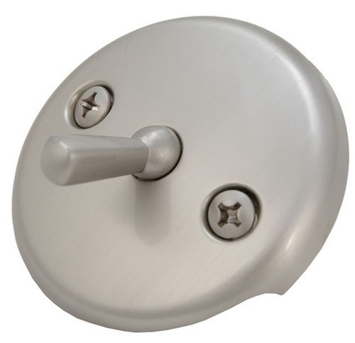 Waste and Overflow, Trip Lever Type, Satin Nickel Finish - Plumb USA