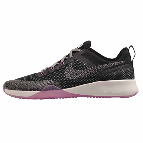 NIKE Women's Wmns Air Zoom TR Dynamic, Black/Cool Grey-Hyper Violet, 10 M US (Nike Air Zoom Total 90 Iii For Sale)