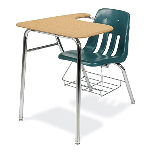Virco 9000 Series Sled-Base Student Chair Desk 18