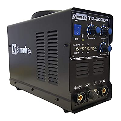 Simadre Powerful Tig200p 200a Tig/mma/pulse Dc Inverter Welding Machine
