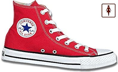 Converse All Star Damen Chucks rot, Leinen, 1230229/38 ...