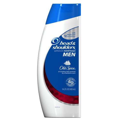 Head & Shoulders Old Spice pour les hommes Shampooing 14.2 fl oz (emballage peut varier)