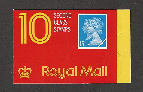Great Britain, Postage Stamp, MH192a Booklet Mint NH, Machin Queen, JFZ