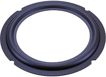 Lautsprecher Reparatur Sicke Gummi Subwoofer Membran (6 Inch Zoll Ø 6mm  [6])