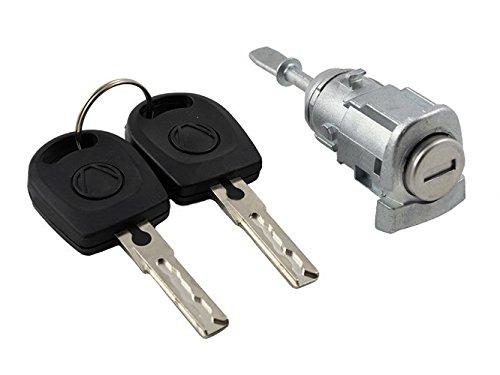 Cilindro della serratura con 2/chiavi destra adatta per Skoda Octavia I 1996.. TS1