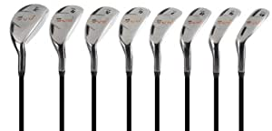 Pinemeadow Golf Men's Pre Progressive Hybrid Set (Right Hand, Graphite, Regular, 3-PW)