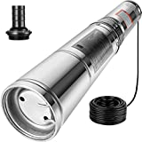 Happybuy Stainless Steel 150ft 25GPM Submersible