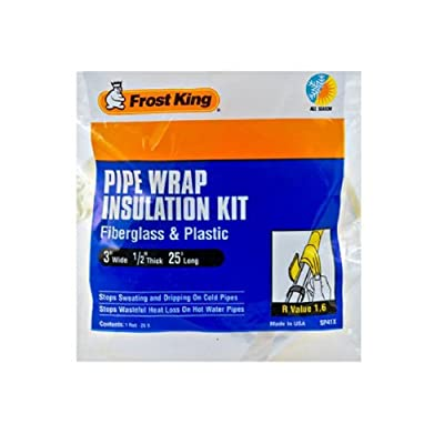 Thermwell Products SP41X Fiberglass Pipe Insulation Kit by THERMWELL PRODUCTS