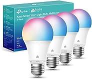 Kasa Smart Light Bulbs, Full Colour Changing Dimmable Smart WiFi Bulbs