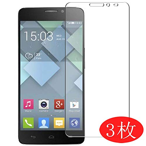 【3 Pack】 Synvy Screen Protector for Alcatel one Touch Idol x 6040 x6040 OneTouch TPU Flexible HD Clear Case-Friendly Film Protective Protectors [Not Tempered Glass] New Version (Alcatel Idol X 6040 Screen)