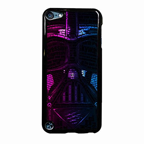Darth Vader Purple Royal Face iPod Touch 5 Case (Black Plastic) (Darth Vaders Face)