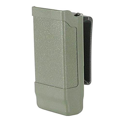 BLACKHAWK! 410500POD Magazine Case 9mm,10mm,0.40Cal,0.45Cal Single Olive Drab