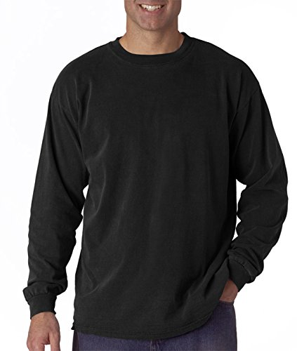 Comfort Colors Ringspun Garment-Dyed Long-Sleeve T-Shirt, 2XL, (Wholesale Designer T-shirts)