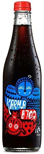 Karma Cola Fairtrade Organic Cola Soft Drink 330ml (Pack of 12) by Karma Cola