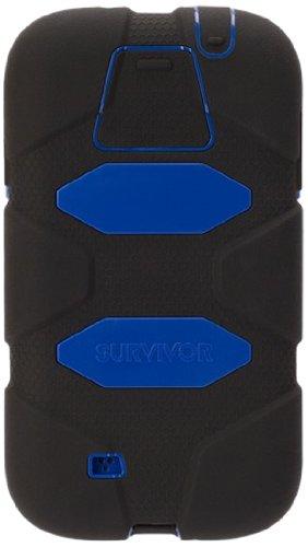hot sale online 4e3ed 32dbe Griffin Survivor Case for Samsung Galaxy S5 - Retail Packaging - Black/Blue