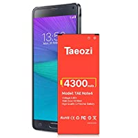 Galaxy Note 4 Battery,[Upgraded] Replacement Battery for Samsung Galaxy Note 4 N910 N910A(AT&T) N910T(T-Mobile) N910V (Verizon) N910P(Sprint) N910F N910U LTE Note 4 Spare Battery-3 Years Warranty