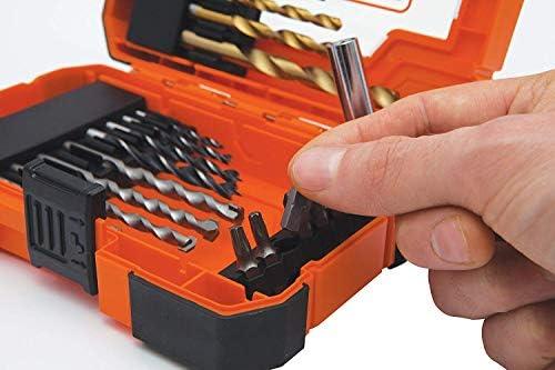 /Orange 27/pi/èces Black Decker A7235-xj forets/