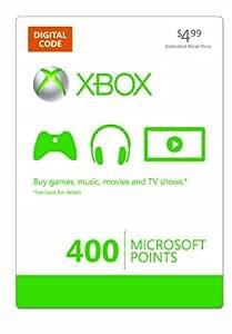 Xbox LIVE 400 Microsoft Points - Xbox One Digital Code
