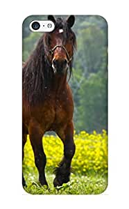 Pirntalonzi Brand New Defender Case For Iphone 5c (Animal Horse Animal) / Christmas's Gift
