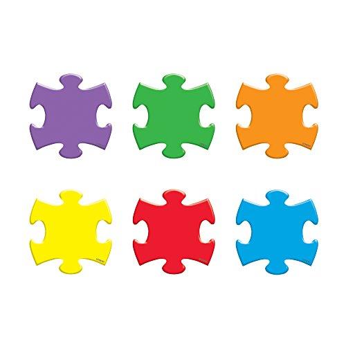 TREND enterprises, Inc. Puzzle Pieces Mini Accents Variety Pack, 36 ct