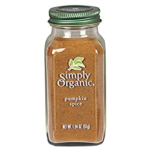 Simply Organic Pumpkin Spice, Certified Organic | 1.94 oz