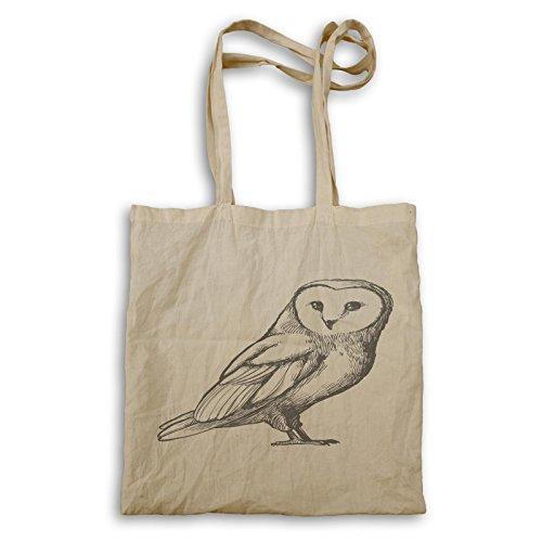 Novità Owl Funny Drawing Borsa Da Trasporto Gratuita A698r