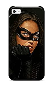 Snap-on Superhero Girl Case Cover Skin Compatible With Iphone 5c