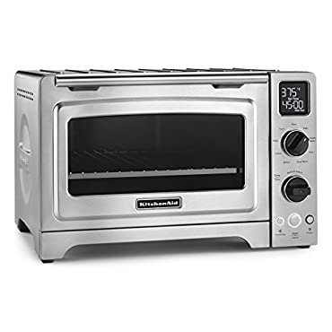 KitchenAid KCO273SS 12 Convection Bake Digital Countertop Oven Stainless Steel