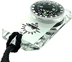 Parka Easy-to-Read Compass for Jacket MiniComp or Pack Zipperpull Mini Compass with Split Ring