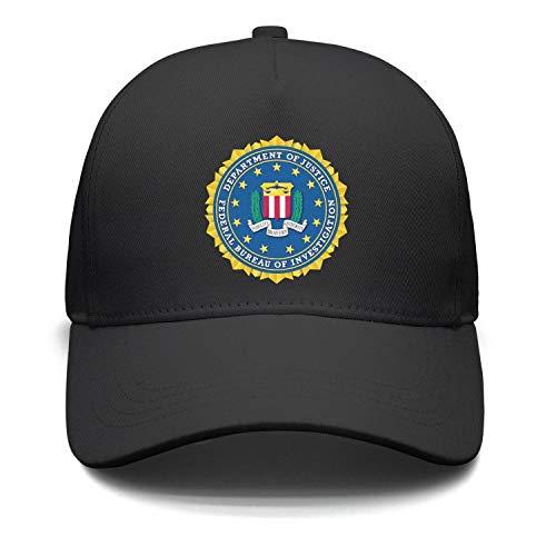 jdadaw Federal Bureau of Investigation FBI Unisex Adjustable Baseball Caps Snapbacks