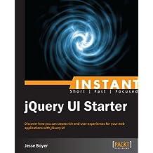 Instant jQuery UI Starter