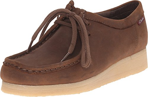 CLARKS Women's Padmora Oxford, Brown Smooth, 7.5 M US from CLARKS