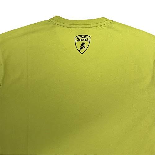 Lamborghini T Lamborghini Lime Uomo shirt T shirt Lamborghini Lime Uomo wH7Rq7I