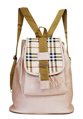 SPLICE Women Kids Backpack Sling Bag Shoulder Chest Bag Pack (M, Peach)