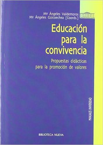 Educación para la convivencia: Propuestas didácticas para la ...