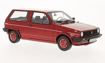 VW Polo II (Tipo 86c) hatchback Fox, rojo, 1986, Modelo de Auto ...