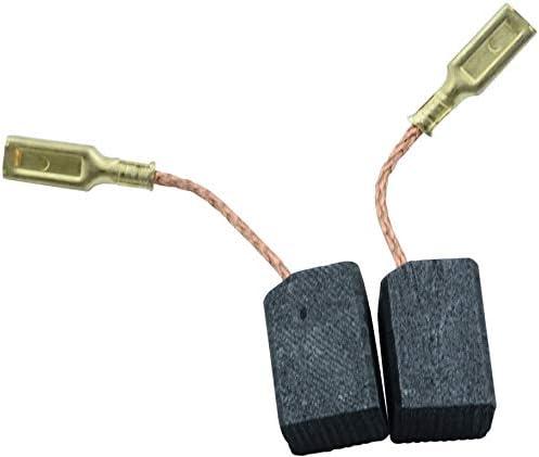 0.0x0.0x0.0 ?x?x?mm Escobillas de Carb/ón para DEWALT BWS22-QS Con dispositivo de desconexi/ón