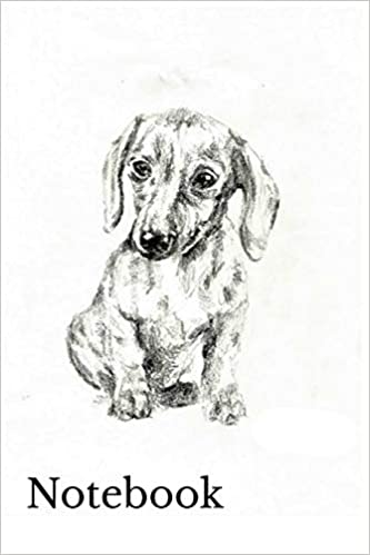 Retrosun Designs - Notebook: Dachshund Sausage Dog Homework Book Notepad Notebook Composition And Journal Gratitude Diary Gift