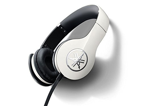 Yamaha High Fidelity Headphones Ivory White